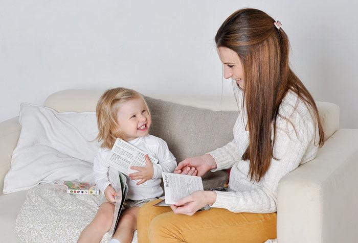 Занятие с ребенком на развитие речи