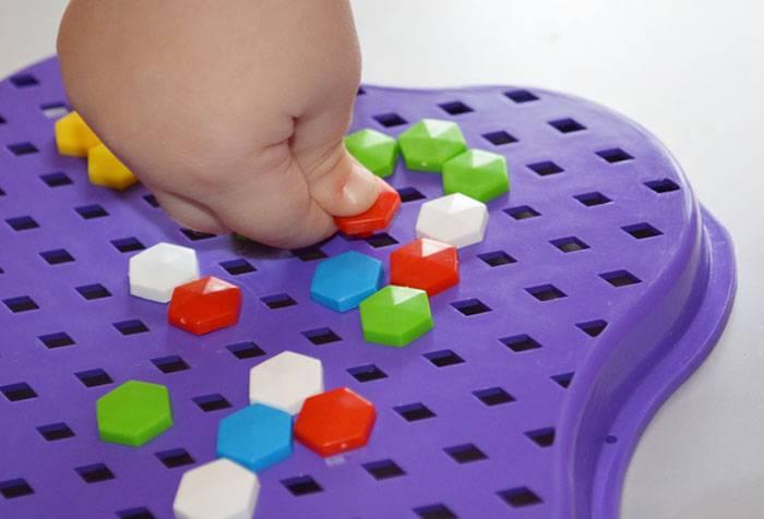 Детская мелкая мозаика