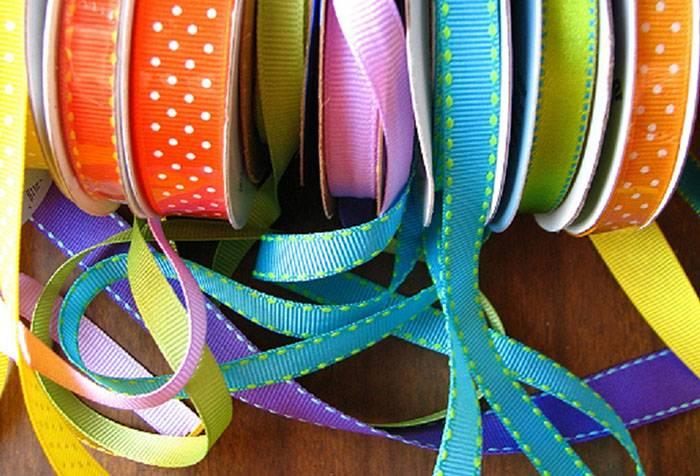 Разноцветные ленточки