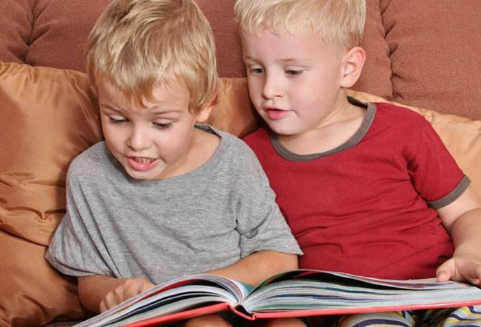 Дети читают на скорость