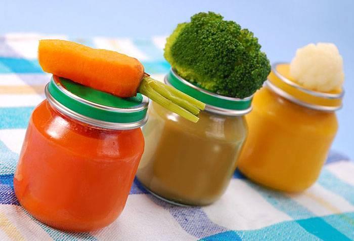 Овощи для прикорма