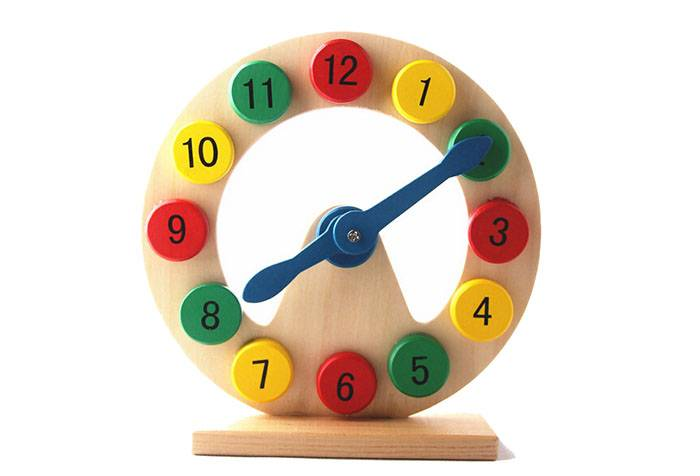 Детский тренажер - часы