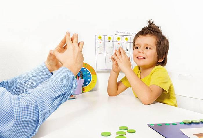 Занятие пальчиковой гимнастикой с ребенком