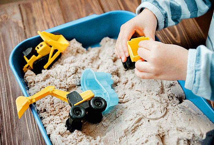 Домашняя песочная терапия