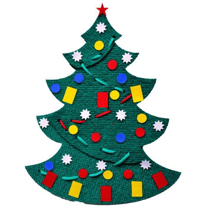 Игра «Украсим елку» для блоков Дьенеша