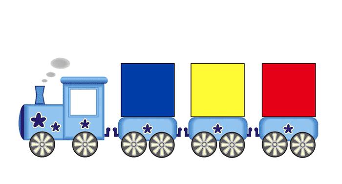 Схема к блокам Дьенеша - паровозик