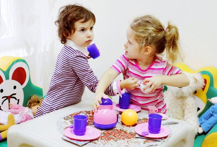 Конфликт у детей во время игры