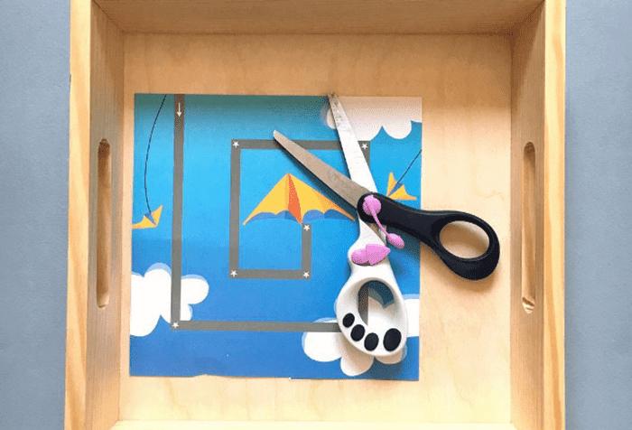 Детские ножницы