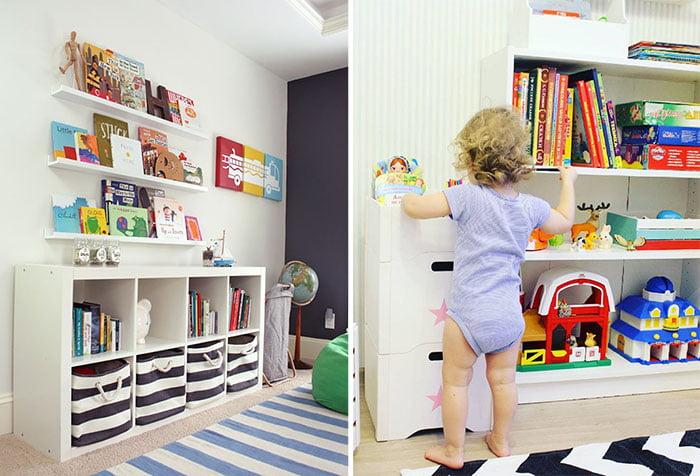 Системы хранения в детской
