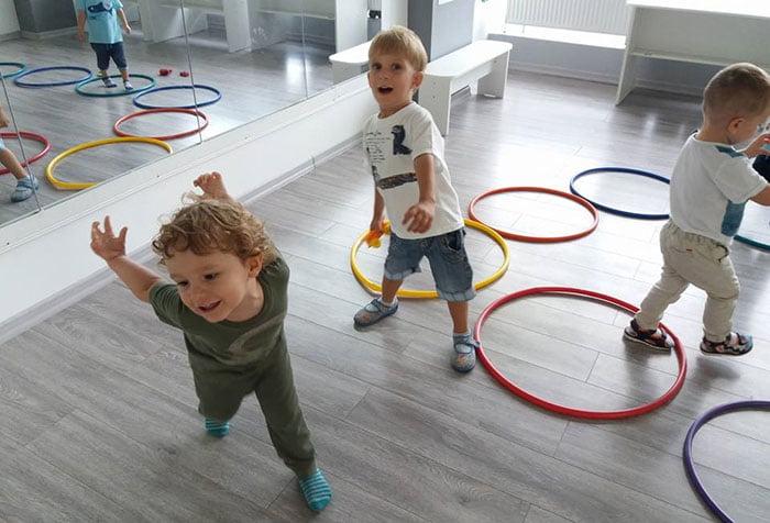 Ритмические упражнения для детей
