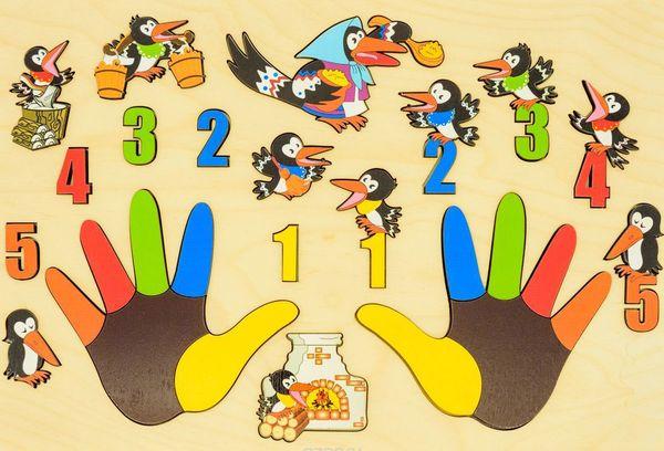 Осваиваем азы арифметики в игровой форме для самых маленьких