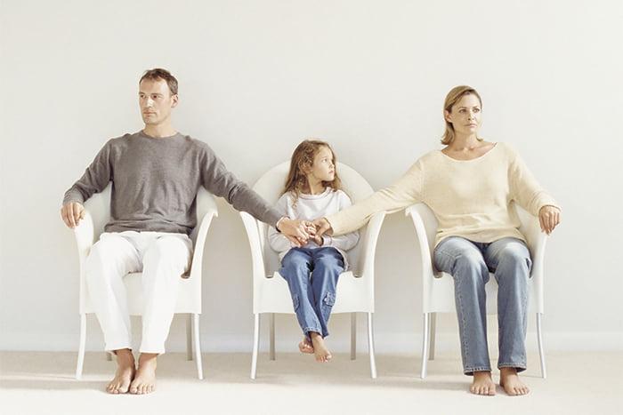 Семья в процессе развода