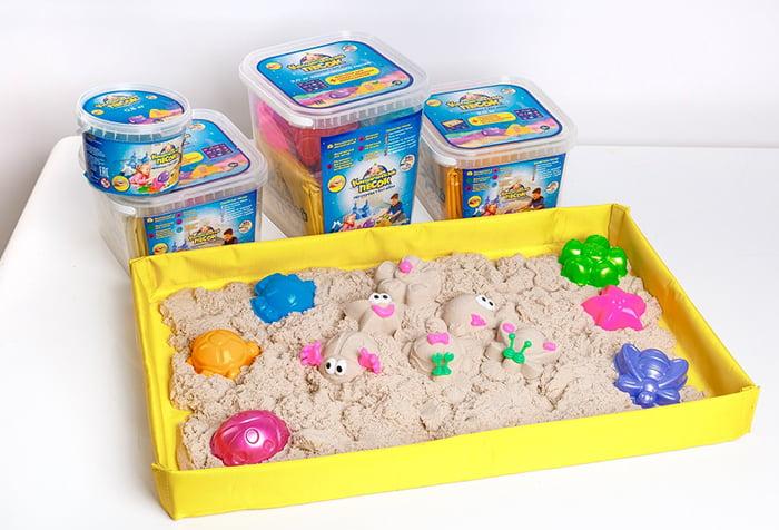 Мини-песочница в домашних условиях
