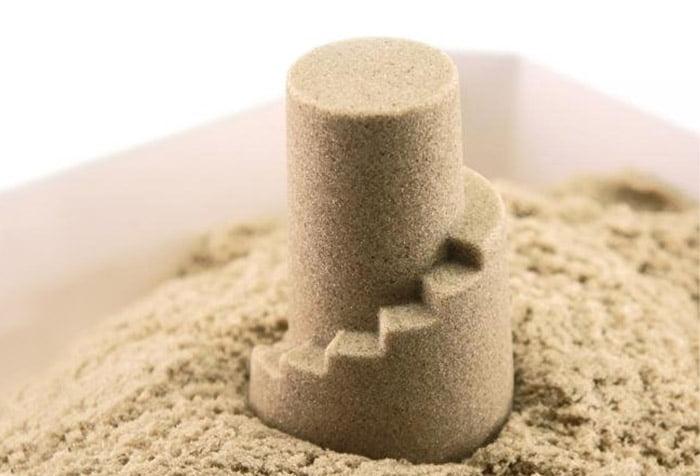 Башня из кинетического песка