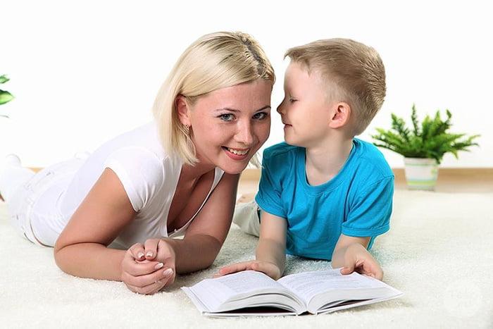 Сын рассказываем маме секрет