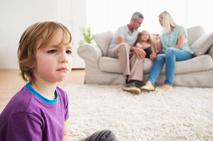 Ребенок обижен на родителей