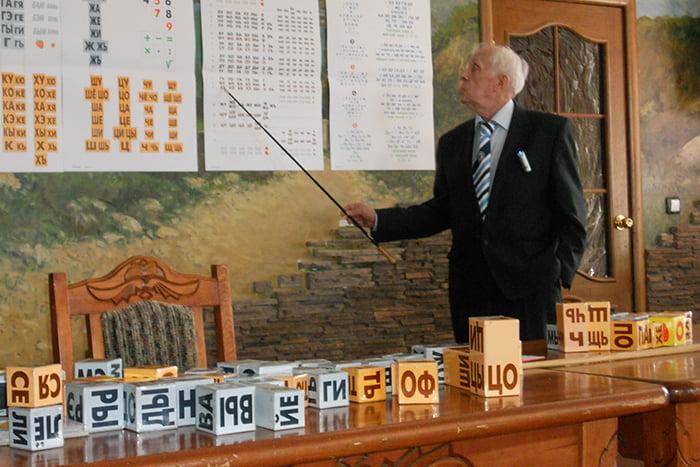 Н.А. Зайцев презентует свою методику