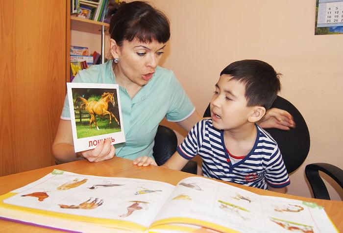 Занятие с ребенком с использованием мнемотехники