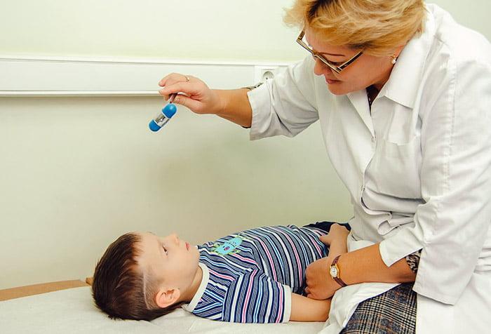 Обследование ребенка неврологом