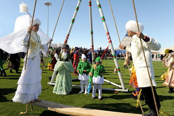 Народные игры в Казахстане