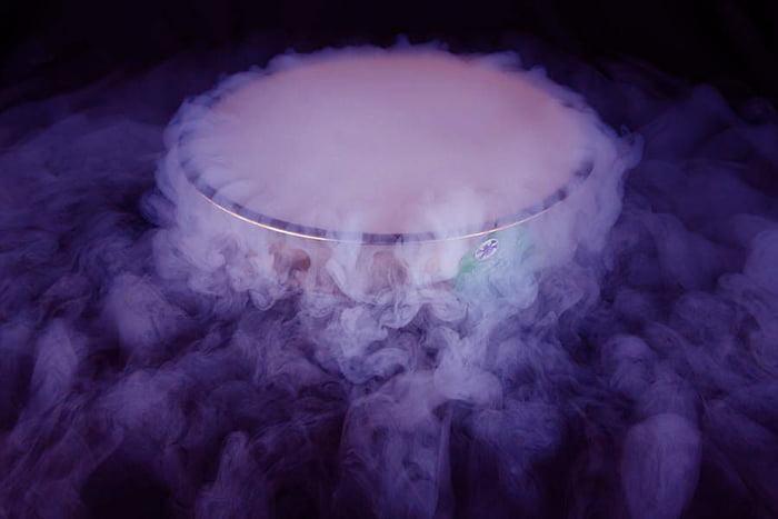 """""""Туман"""" из сухого льда"""