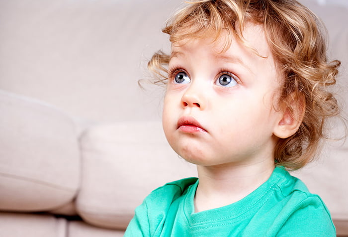 Ребенок в шоке