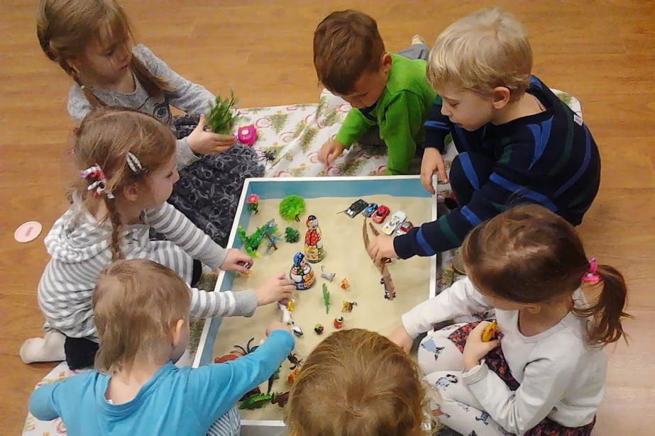 Песочная терапия в детском саду