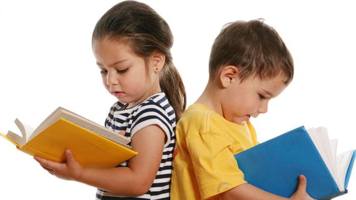 Дети учат стихи