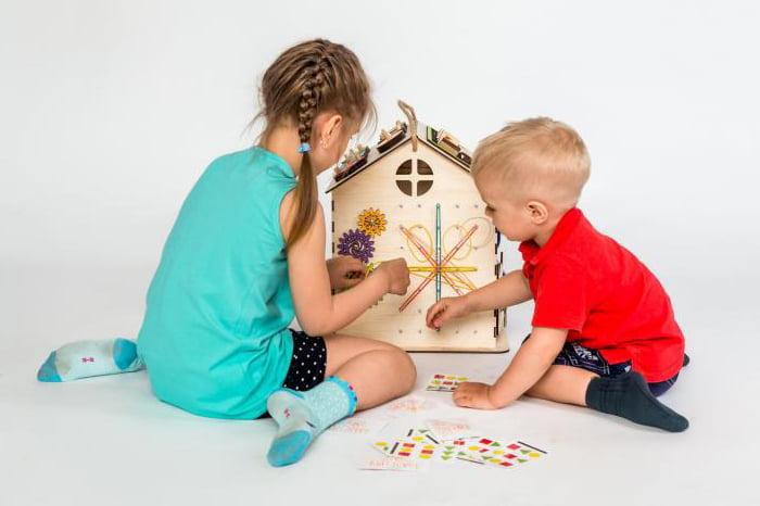 Дети с игрушкой-геобордом