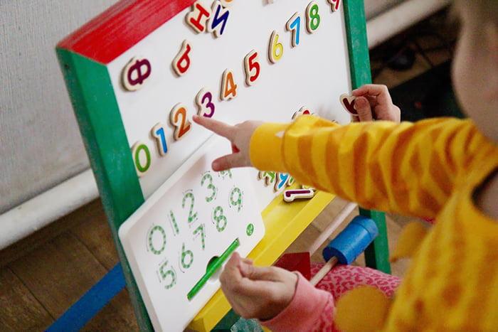 Занятия математикой с ребенком дома