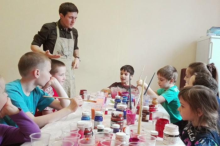 Занятие по арт-терапии для детей