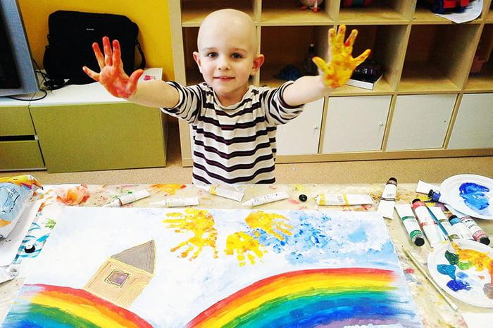 Изотерапия для онкобольных детей