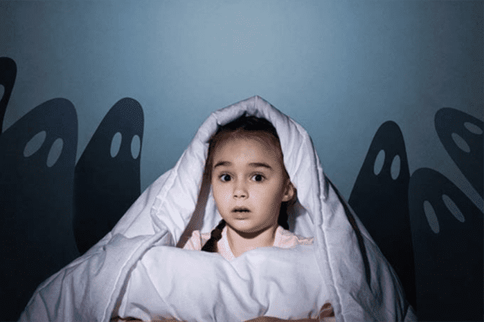 Ребенок боится привидений