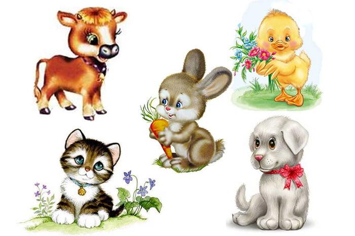 Рисунки - домашние животные