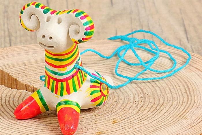 Филимоновская игрушка - барашек