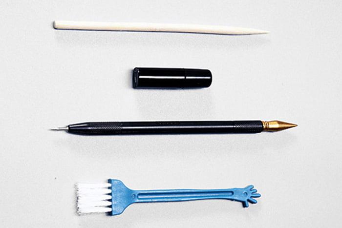 Инструменты для граттажа