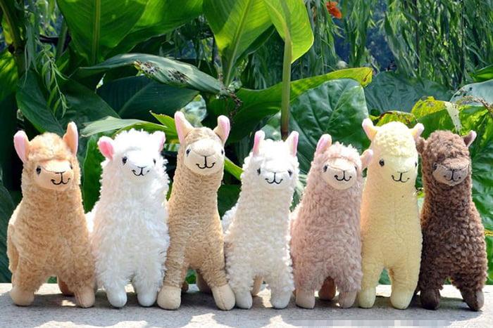 Игрушки-ламы