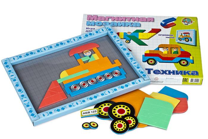 Развивающая игрушка-конструктор