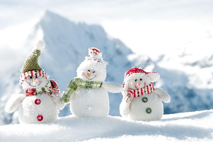 Маленькие снеговички