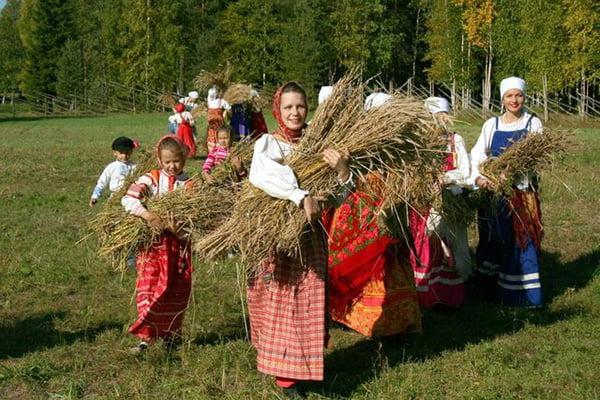 Народный праздник, посвященных наступлению осени