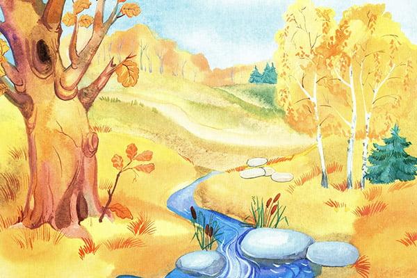 Рисунок - золотая осень