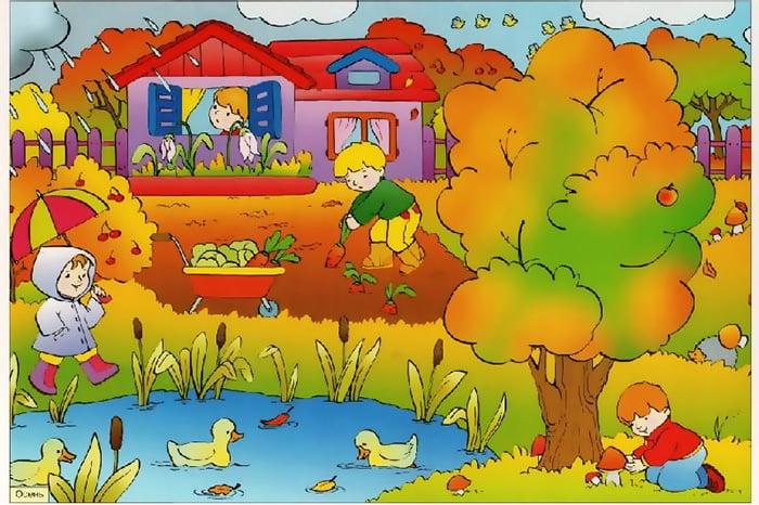 Картинка с осенним пейзажем