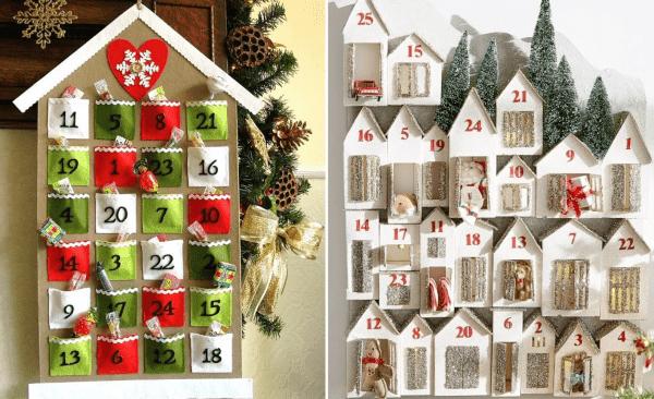 Идеи адвент календаря для детей