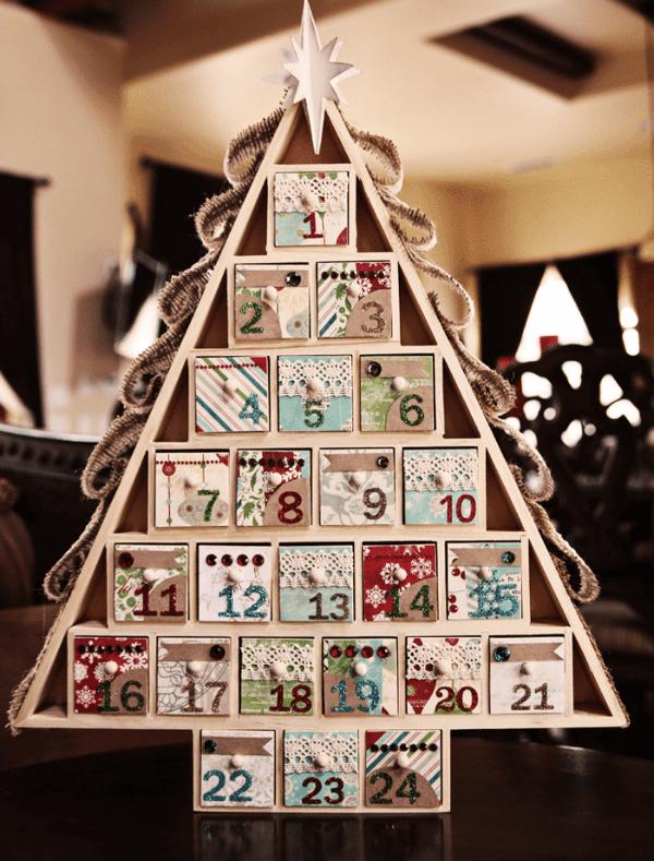 Рождественский адвент елочка
