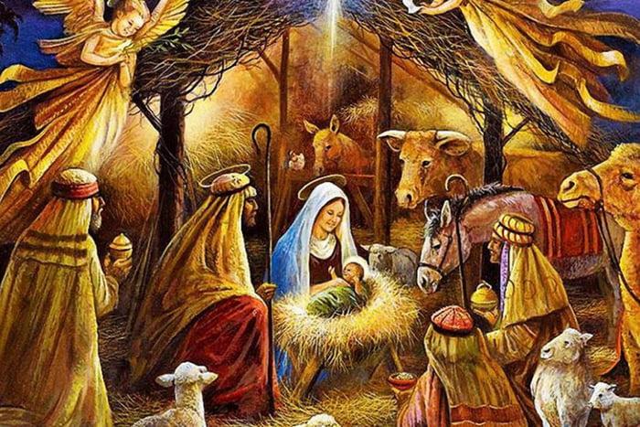 Рождение Иисуса в яслях