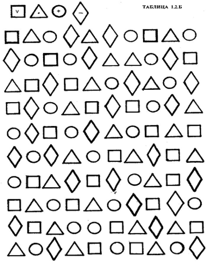 "Упражнение ""Найди и обведи"" с геометрическими фигурами"