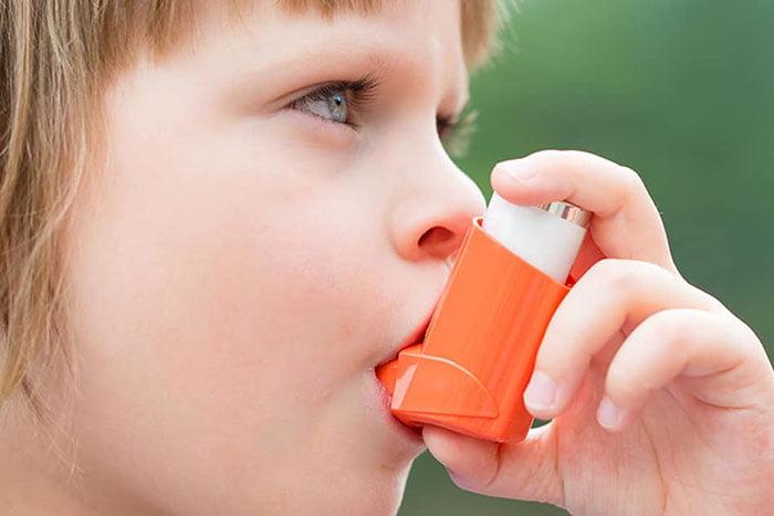 Ребенок с астмой