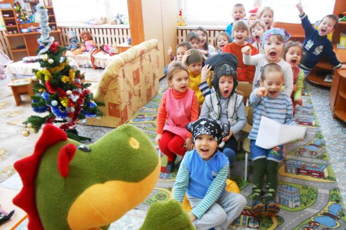 Игра с детьми 3-4 лет