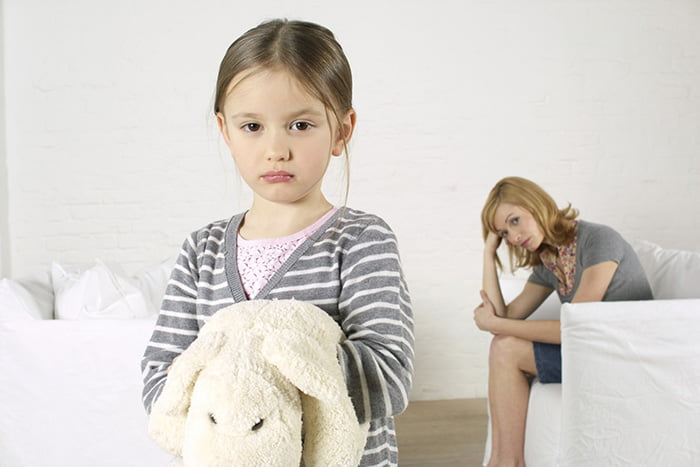 Конфликт мамы с дочкой
