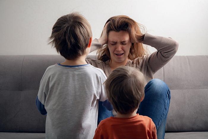 Мама устала от детей